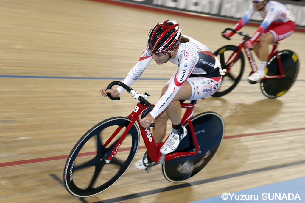 5 March 2016 Track World Championships (London, UK) Women Points Final UWANO Minami (JPN) Photo : Yuzuru SUNADA